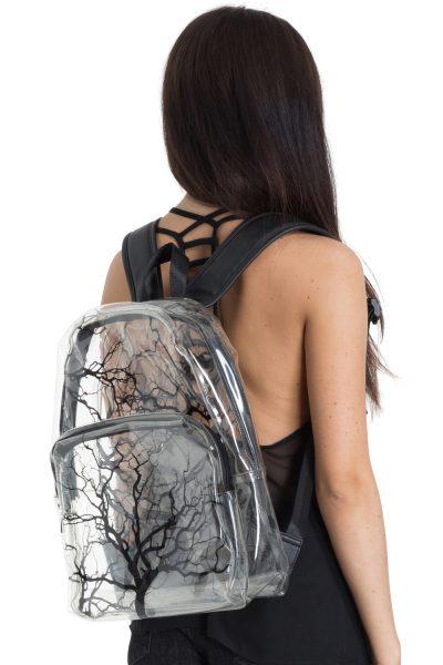 31. Genomskinlig ryggsäck