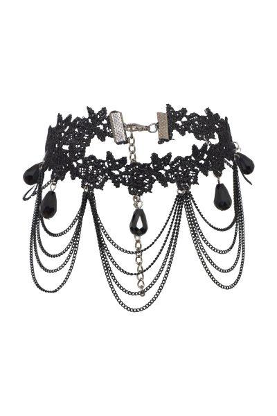 16. svart kedje halsband
