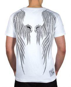 67. vit ängla tshirt